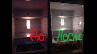 Замена лампочки в холодильнике LG g409