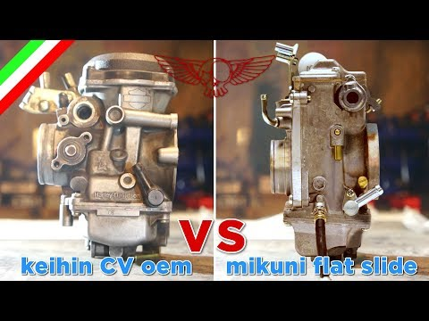 Carburatore CV VS Mikuni a valvola piatta - ep34 - Roma Custom Bike
