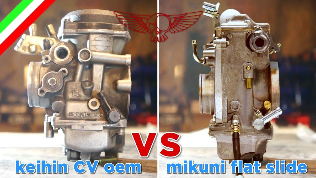 Carburatore CV VS Mikuni a valvola piatta - ep34 - Roma Custom Bike