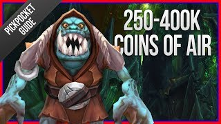250K-400K COINS PER HOUR | Legion Coins of Air Farming Guide