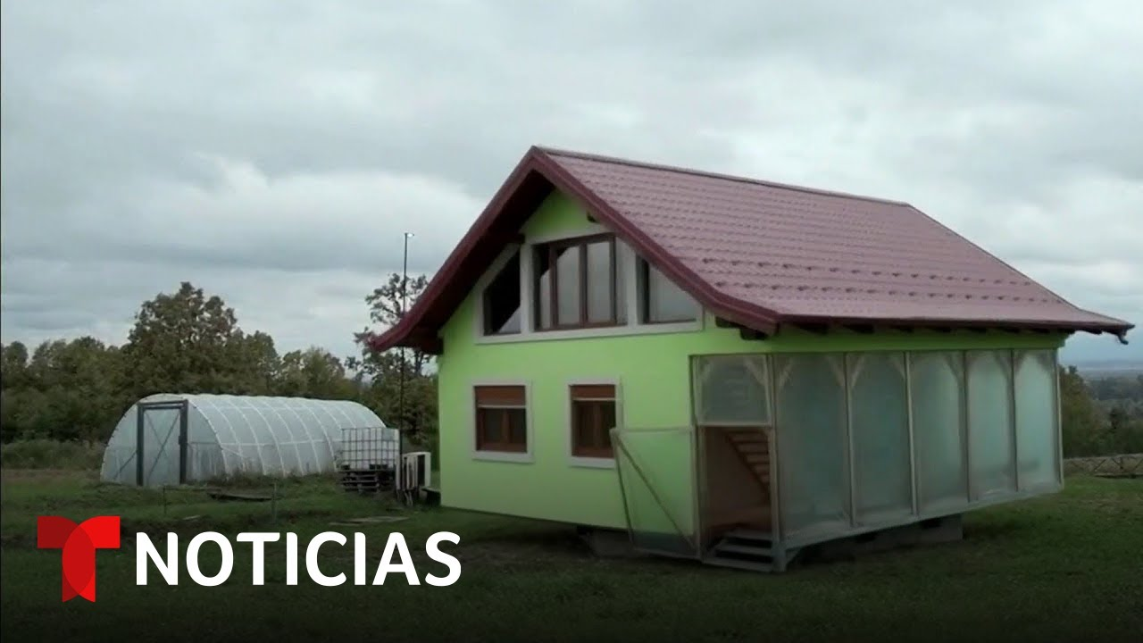 Un hombre construye una casa giratoria en Bosnia | Noticias Telemundo