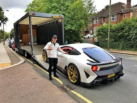 DELIVERY OF OUR BRAND NEW CUSTOM FERRARI F2X LONGTAIL!