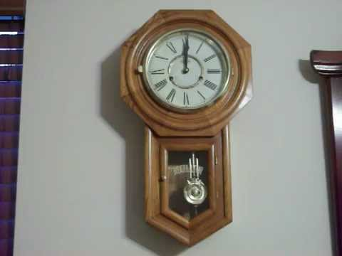 Vintage DA Regulator Wall Clock YouTube