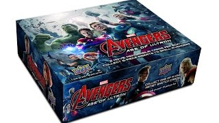 Box Busters: 2015 Upper Deck Avengers: Age of Ultron