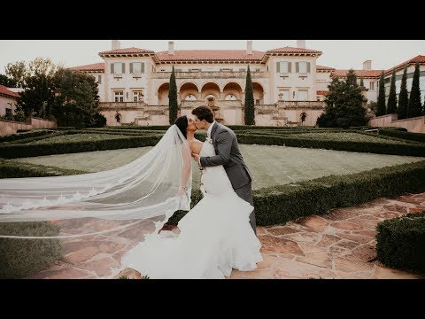 Groom surprises bride with a 2nd ring! 😱 Philbrook Museum Wedding and Mayo Hotel Wedding