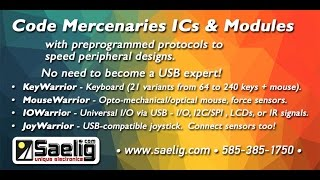 Code Mercenaries Instant Interface ICs from Saelig