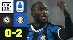 Romelu Lukaku beendet Inters Remis-Serie: Udinese - Inter Mailand 0:2 | Serie A | DAZN Highlights