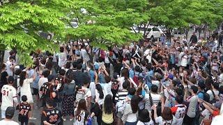 20170430 타이어뱅크 KBO 리그 롯데 자이언츠 VS 두산 베어스 3차전 잠실야구장 경기 종료 후 잠실 노래방 개장