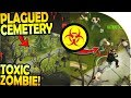 NEW PLAGUED CEMETERY + NEW TOXIC ZOMBIE INBOUND - Prey Day Survival Gameplay