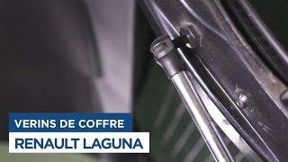 Renault Laguna - Changer les Vérins de Coffre