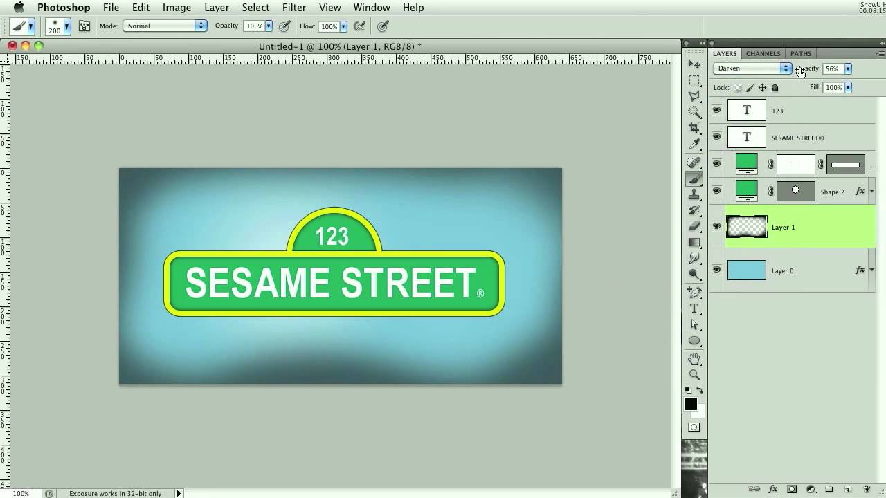Create the sesame street logo youtube create the sesame street logo pronofoot35fo Choice Image