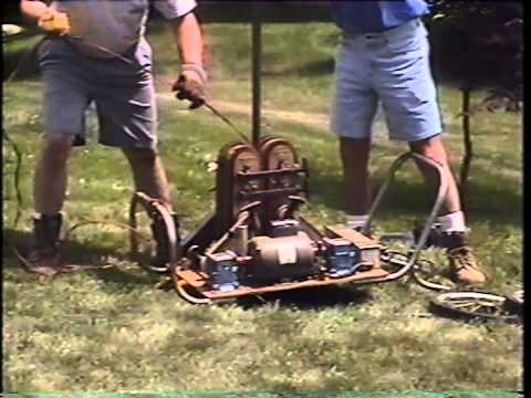 Well Pump Puller >> Pul-A-Pump machine pulling water well pumps - YouTube