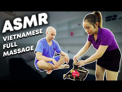 Vietnamese Girl | Full Body Massage Chiropractic Video