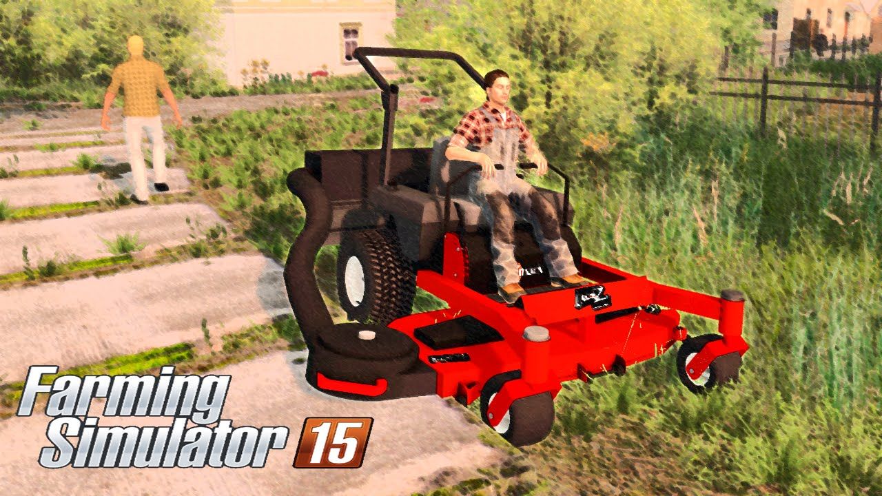 Farming Simulator 15 Exmark Lazer Z Zero Turn Mower