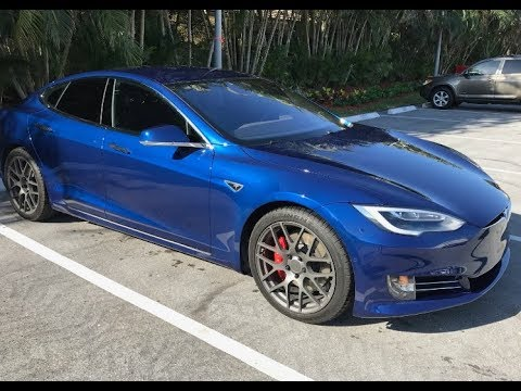 Tesla Model S P100d 2018 Tesla Model S P100d Interior And