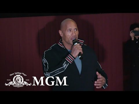 PK - Dwayne 'The Rock' Johnson Surprises ATL 'FIGHTING WITH MY FAMILY' Screening