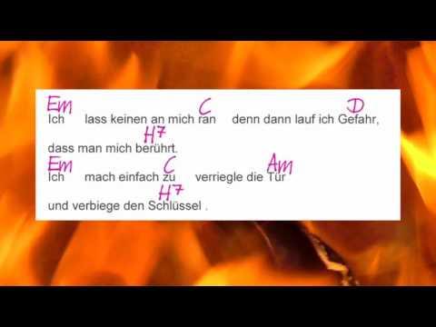 Das Kaputtgehen - Balbina - Lyrics and Chords - Campfire Version - Musikschach