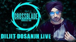 Diljit dosanjh live   crossblade the musical tour   delhi university north campus