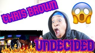 Chris Brown - Undecided (Official Video) REACTION VIDEO | KINGTV VLOGS