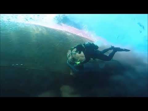 UNDERWATER HULL CLEANING by CHIOS COMMERCIAL DIVERS