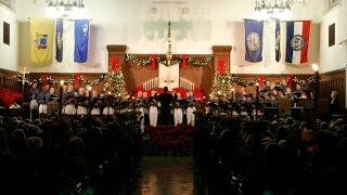 The Citadel 2016 Christmas Candlelight Service(The Citadel's 79th Christmas Candlelight Services will be held this season on Friday Dec. 2, and Sunday Dec. 4. Both services begin at 7:30 p.m. at Summerall ..., 2016-12-03T02:57:25.000Z)