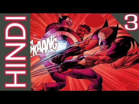 Avengers vs X men | Episode 03 | Marvel Comics in Hindi | BlueIceBear