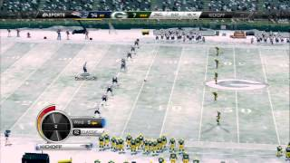 New England Patriots vs Green Bay Packers - Lambeau Field - Madden NFL 25 Gameplay