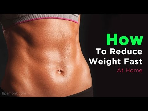 How to reduce weight fast at home naturally – Weight Loss Tips
