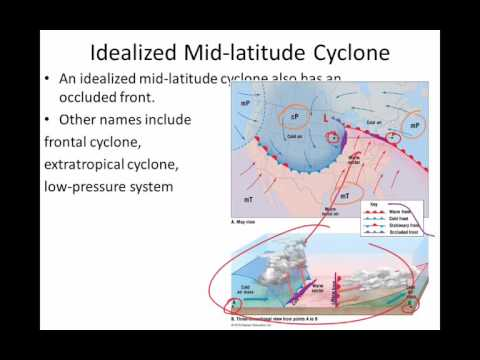 PHS165 e Ch9 Weather fronts mid latitude cyclones