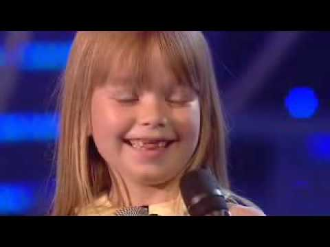 Connie Talbot THE FINAL Britains Got Talent Over The Rainbow