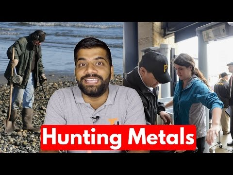 Metal Detectors Explained | Gold Mining, Security Check!!!