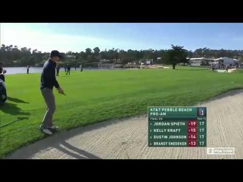 Jordan Spieth Final Two Holes of The 2017 Pebble Beach Pro Am