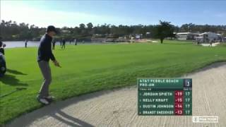 Jordan Spieth Final Two Holes of The 2017 Pebble Beach Pro Am