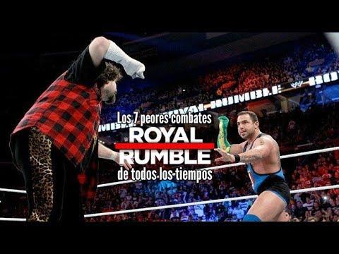 Los 7 peores combates Royal Rumble de todos los tiempos   Loquendo   Mr. WWE