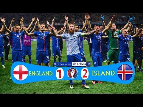 🔥 Исландия - Англия 2-1 - Обзор Матча 1/8 Финала Чемпионата Европы 27/06/2016 HD 🔥