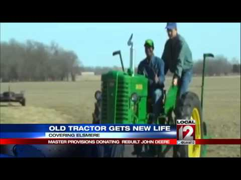 Old tractor gets a new life doing mission work