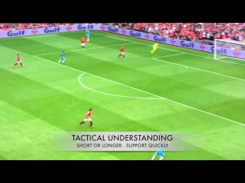 Claudio Bravo vs Man Utd (Playing Out From The Back Clips)