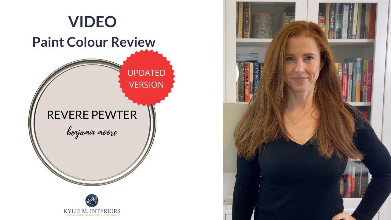 Download Paint Colour Review: Benjamin Moore Revere Pewter HC-172