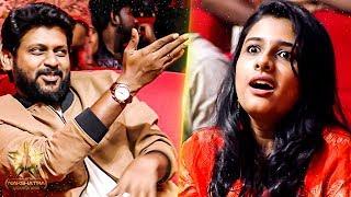 Rio & Shruthi's Romantic – Funny Couple Moments! | Galatta Nakshatra Awards 2019