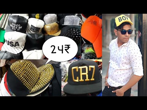 BUY SINGLE CAP ONLINE Branded caps and hats wholesale market, sadar bazar, Delhi