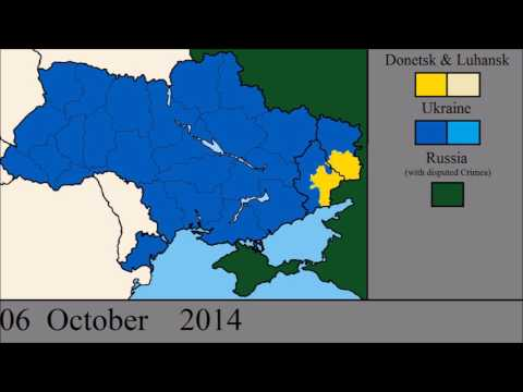 The Donbass War: Every Day (So Far)