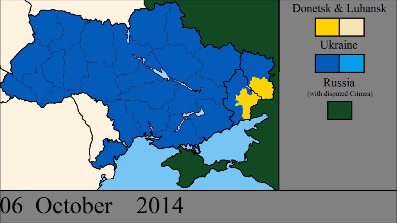 the donbass war every day so far