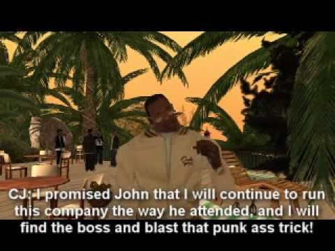 "GTA:SA Movie: GTA San Andreas Stories ""The Sweet Life "" The Perfect Place Part 17"