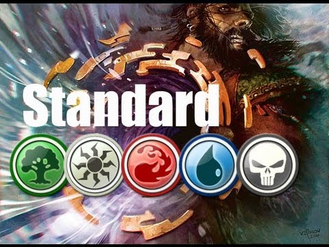 Mtg standard deck tech 5 color door to nothingness youtube for Door to nothingness deck