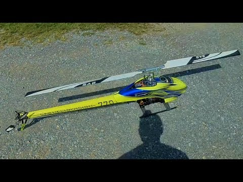 Goblin 770 Tail Wag Issue! - The RC Element (Heli Edition)