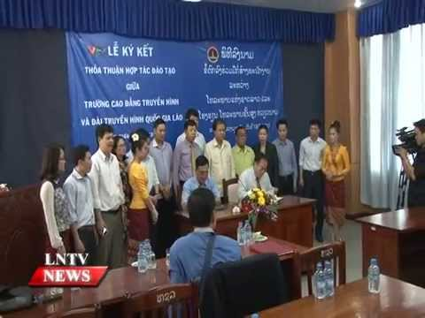 Lao NEWS on LNTV: VTV) will continue to assist LNTV in HRD.19/3/2015