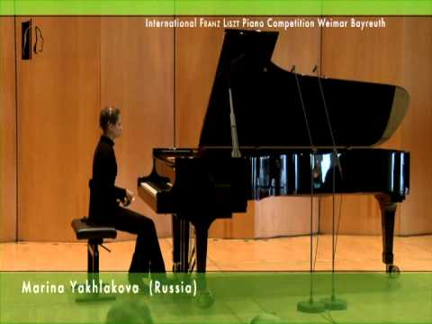 Marina Yakhlakova plays Hydn: Sonata D Major Hob.XVI/37 and Liszt: Mephisto-Valse no.1 A Major S.514