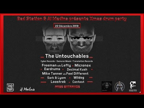 Bad Station Xmass Drum Party  The untouchables