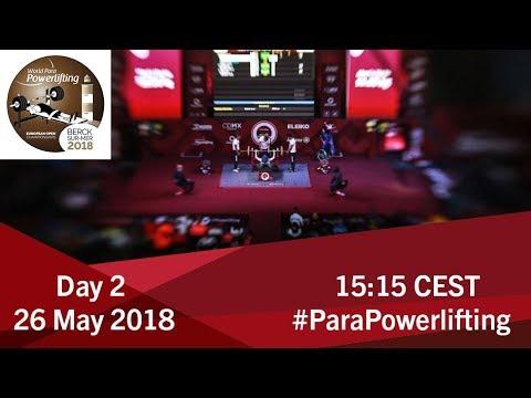 Men's Up to 59kg | World Para Powerlifting European Open Championships