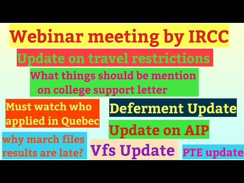 New Updates For Students Of Canada/Canada September Intake 2020 Update/Vfs Update/AIP Update.